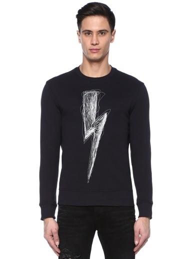 Neil Barrett Sweatshirt Lacivert